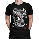 3405-Camiseta Premium, Death Note - God of The New World (Dr.Monekers) L