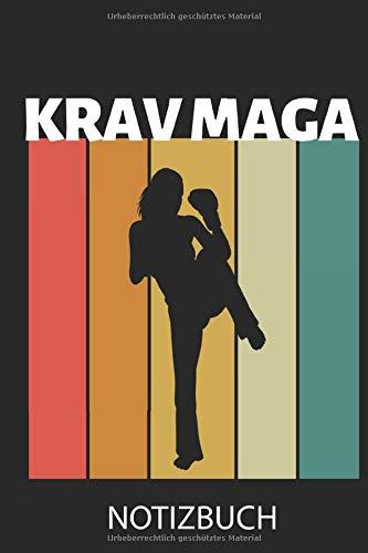 KRAV MAGA NOTIZBUCH: A5 TAGEBUCH Krav Maga | Kampftechniken | Kampfsport Buch | Training | Kampf Sport | Selbstverteidigung | Geschenkidee für Trainer | Geschenk