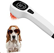 4x808nm +12X650nm, Cold Laser Human/Vet Device : Home Laser Therapy, Pain Relief Therapy Device,Healing &Reducing Pain and Inflammation for HUMAN,Dogs,Cats,Horses, Other Animals, CLASS II, power 660nW