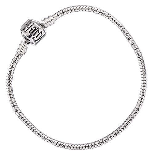 HARRY POTTER Bracelet 19 cm en métal argenté sur Carte de Cuisson.