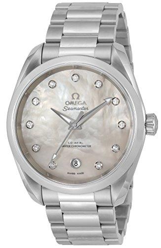 Omega Seamaster Aqua Terra Automatik Chronometer Diamond Damenuhr 220.10.38.20.55.001