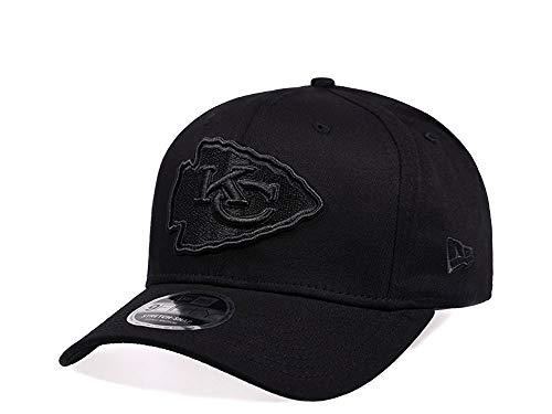 New Era Kansas City Chiefs All Black Edition 9Fifty Stretch Snapback Cap - NFL Kappe (ML)