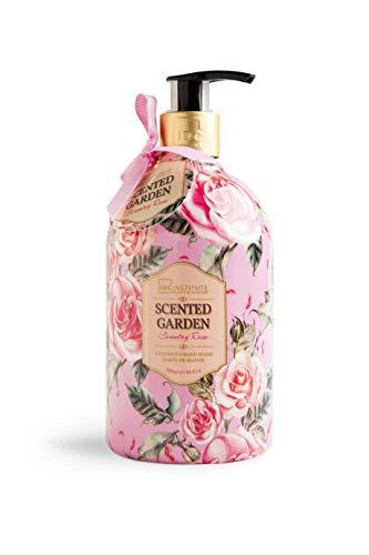 IDC INSTITUTE, Jabón líquido para manos aroma rosa - 500 ml.