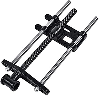 findmall 7 Inch Woodworking Front Vise Woodworking Bench Vise Cast Iron Front Screw Vise for Making Woodworking