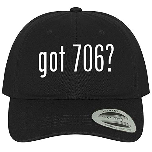 The Town Butler got 706? - A Comfortable Adjustable Dad Baseball Hat, Black, One Size