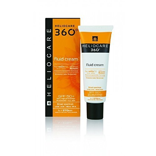 Heliocare 360 Fluid Cream Sun Block / Sun Cream by DIFA COOPER SpA