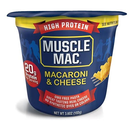 Muscle sale Price reduction Mac Macaroni Cheese Microwavable Original Cups Chedda