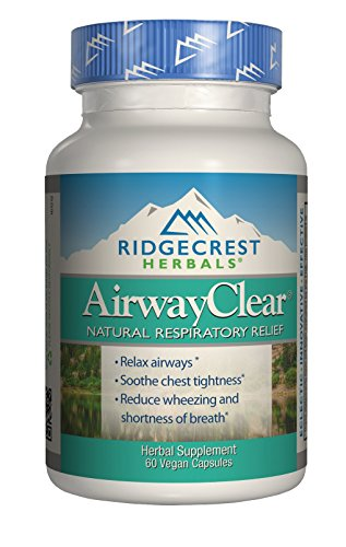 Ridgecrest Herbals Airway Clear 60 vcaps