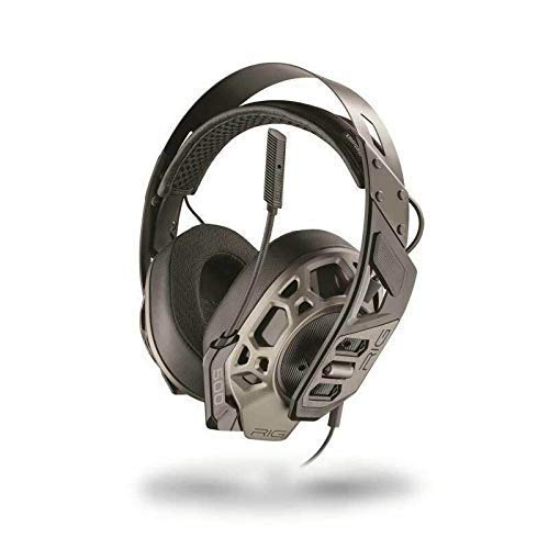 Plantronics RIG 500 HX PRO DOLBY ATMOS Headset Binaural Grau – Kopfhörer Headset XBOX / WINDOWS10 / KABEL 1,3m