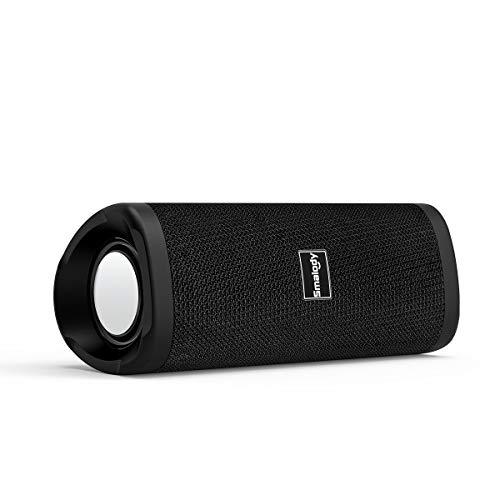 Altoparlanti Bluetooth, altoparlante wireless portatile Smalody Audio stereo HD e bassi profondi, perfetti per esterni, campeggio, sport, feste