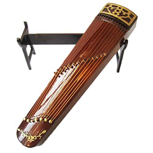 JVSISM Guzheng Modell Chinesische Traditionelle Zither Musik Instrument Sammlung Dekorative Ornamente Modell Geschenk Mit Fall Stehen