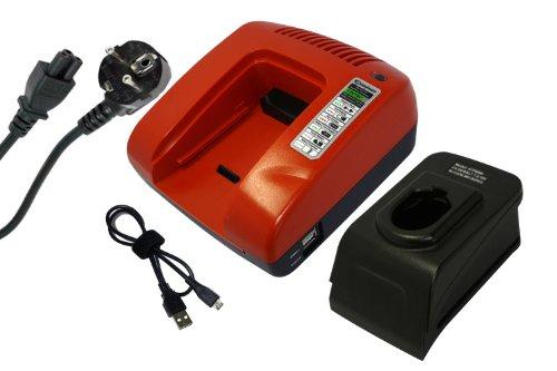 PowerSmart Cargador rápido para Dewalt DC020, DC212, DC330, DC385, DC390, DW9061, DW9062, DW9071, DW9072, DW9091, DW9094, DW9095, DW9096, DE9031, DE9036 37, DE9. 038