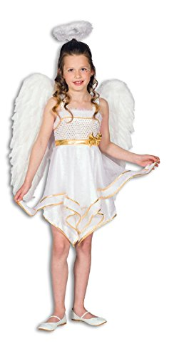 L3100730-116 Kinderkostüm Engel Engelskleid Gr. 116