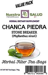 Stone breaker Tea Chanca Piedra - Filter Tea Value pack (60 tea bags)