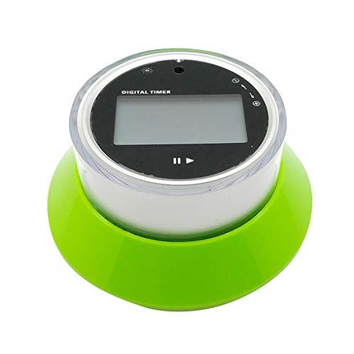 Ruiboury Reloj digital de cocina con temporizador para hornear cuenta atrás con alarma LCD magnética y soporte para nevera