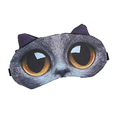 Süße Schlafmaske für Kinder, niedliche Schlafmaske, 3D-Tier-Schlafmaske, süße Tier-Cartoon-Schlafmaske