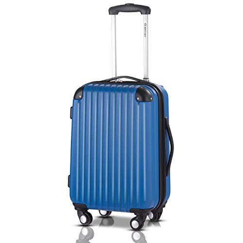 Goplus 20' ABS Carry On Luggage Expandable Hardside Travel Bag Trolley Rolling...
