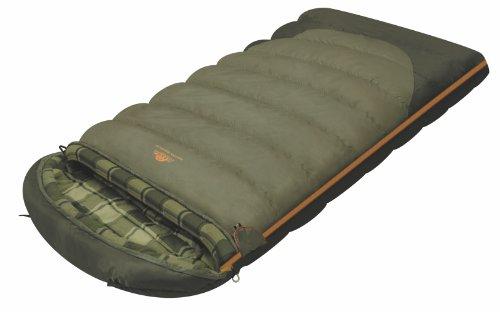 Sac de couchage Alexika Siberia Wide Plus - Sac de couchage chaud, spacieux, rectangulaire, couverture 3 saisons pour adultes et familles camping en plein air à basse température jusqu'à 0 C