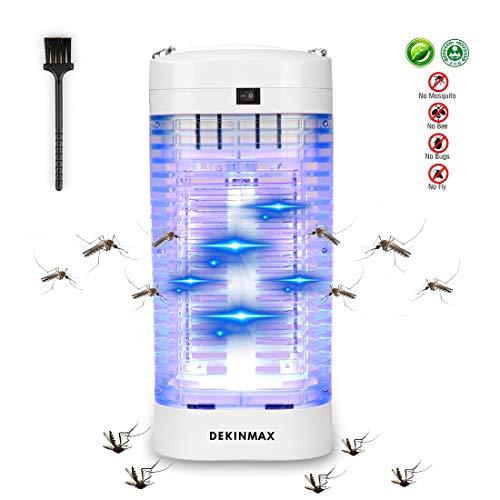 DEKINMAX Insektenvernichter,UV Insektenvernichter 18W Elektrischer Insektenvernichter Mückenfalle Fliegenfalle Insektenvernichter Elektrisch Für Innen und Außeneinsatz Schlafzimmer Gärten