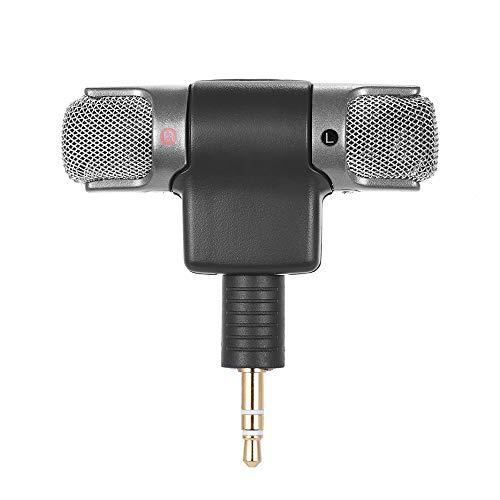 Andoer Externes Stereo-Mikrofon mit Adapterkabel (3,5mm auf Mini USB) für Gopro Hero 33+ 4Für AEE Sport-Action-Kamera