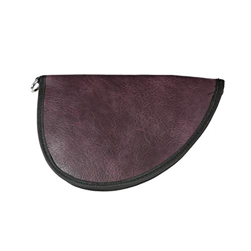 Lady Conceal Soft Pistol Handgun Case Rug (Mulberry, Small)