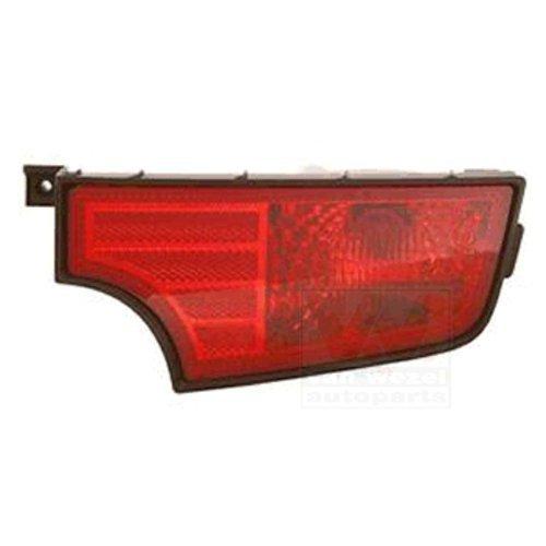 Van Wezel 8332930 Anti-brouillard arrière droit, Rouge