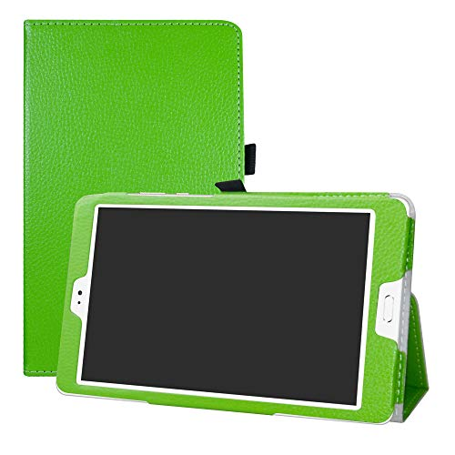LFDZ Teclast T8 Case-Slim Folio Folding Stand PU Leather Cover for 8.4' Teclast T8 / Teclast M8 Android Tablet 8.4-Inch Tablet,Green