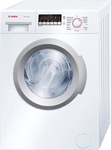 Bosch WAB282V1 Serie 2 Waschmaschine Frontlader / A+++ / 153 kWh/Jahr / 1400 UpM / 6 kg / weiß / VarioPerfect / ActiveWater Mengenautomatik