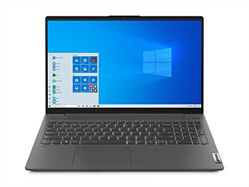 Lenovo IdeaPad Slim 5 AMD Ryzen 7 5700U 15.6' (39.63cm) FHD IPS Thin & Light Laptop (16GB/512GB SSD/Windows 10/MS Office/Backlit Keyboard/Fingerprint Reader/Graphite Grey/1.66Kg), 82LN00A3IN