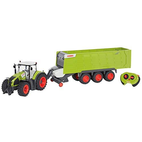 RC Auto kaufen Traktor Bild 3: Happy People 34425 , Claas Traktor Axion 870 RC Anhänger Cargos 9600*