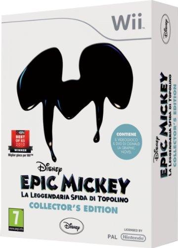 Disney Epic Mickey: La Leggendaria Sfida Di Topolino - Collector's Edition