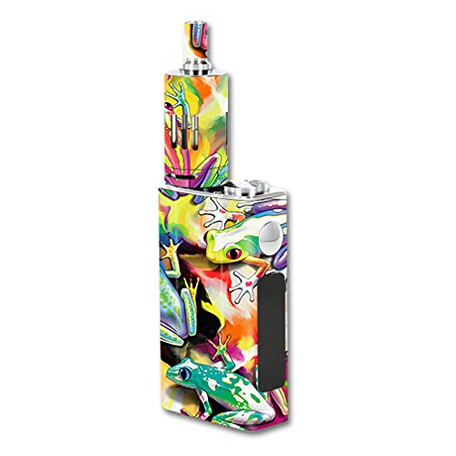 MightySkins Skin Compatible with JoyeTech eVic VT 60W Kit – Wet Paint | Protective, Durable, and Unique Vinyl Decal wrap Cover | Easy to Apply, Remove, and Change Styles | Made in The USA