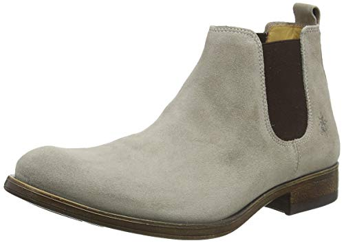 Fly London Herren Mezo559fly Chelsea Boots, Beige (Earth 004), 42 EU
