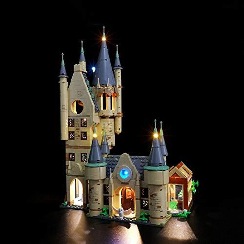 Mecotecn Kit de Luz LED para Lego 75969 Harry Potter Torre de Astronomía Juguete (Modelo Lego No Incluido)