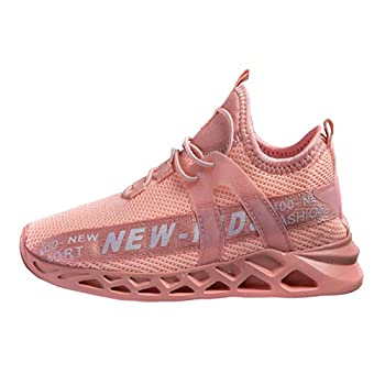 koppu Kids Shoes Running Shoes Girls Boys Primary School Students Sports Shoes Spring and Autumn Casual Shoes Pink