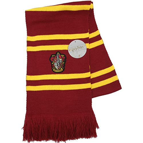 Harry Potter  T25440 Sciarpa Ufficiale Casa Grifondoro, Multicolore