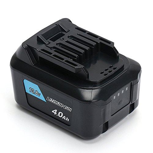 【POWERGIANT】マキタMakita BL1040 BL1015 BL1040B10.8V 4000mAh CL107クリーナー用 互換バッテリー Max CXTシリーズ対応 10.8V・12Vリチウムイオン CL106FD CL107FD CF10