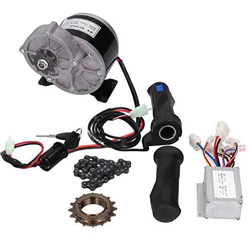 Rodipu Kit de Controlador de Motor, Kit de conversión eléctrica de Alto Rendimiento de 24 V y 250 W, para triciclos, monopatines, Bicicletas de Bricolaje, Scooters