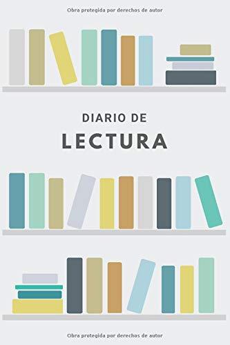 Diario de Lectura: Cuaderno de Lectura para Anotar Libros Leídos