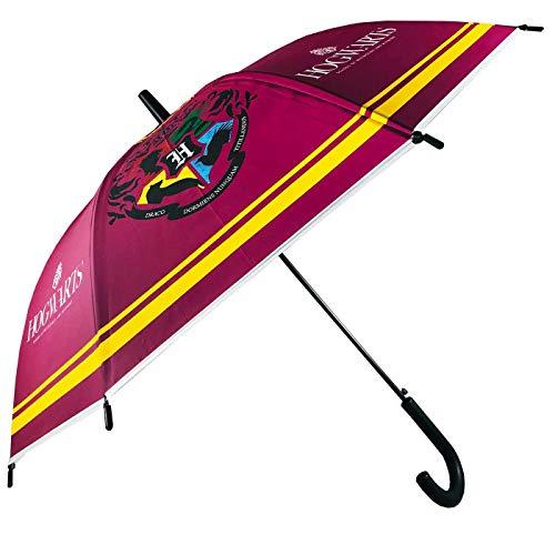 Paraguas Automático Paraguas Harry Potter Escudo Hogwarts Paraguas Infantil