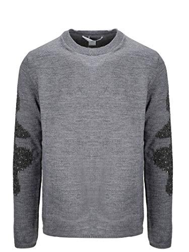 Luxury Fashion | Comme Des Garçons Shirt Heren W275053 Grijs Wol Truien | Herfst-winter 19