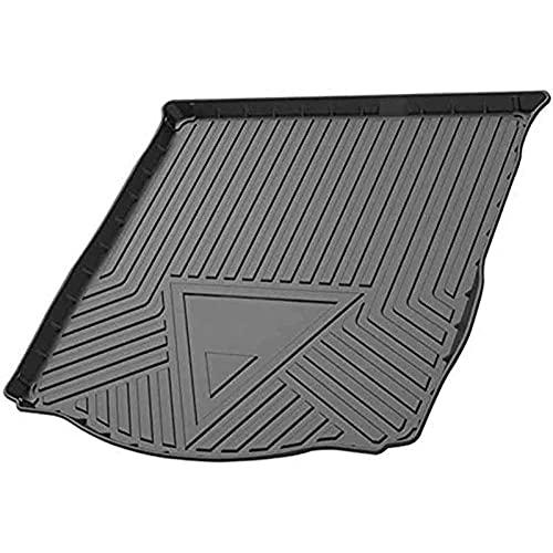 FFHJHJ Alfombrilla para Maletero De Coche para Citroen C-Elysee 2014-2020,Revestimiento De Maletero De Goma Waterproof Anti-Scratch Protector Pad Interior Accessories