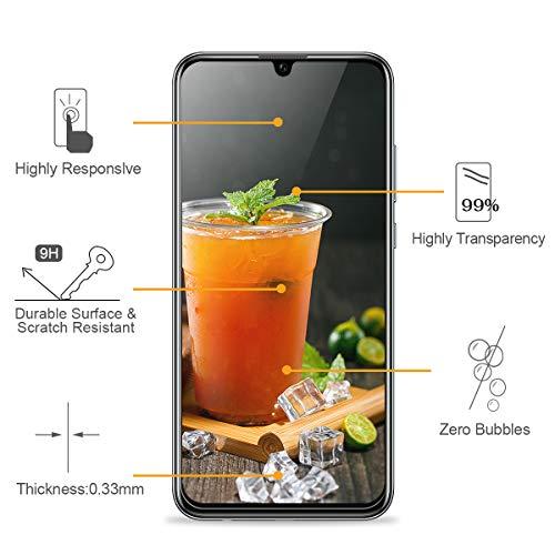 3 Stück Panzerglasfolie für Huawei Honor 10 Lite/P Smart 2019 Panzerglas Schutzfolie Anti Kratzen Ohne Bläschen Displayschutzfolie Blasenfrei Einfache Montage für Huawei Honor 10 Lite Transparent - 2