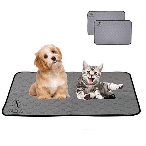 Empapadores de Perros y Gatos Reutilizables con la Maxima absorcion - Toallitas de Entrenamiento para Mascotas - Pañales para Perros, Gatos, Conejos - 2pcs (60x47cm) ⭐