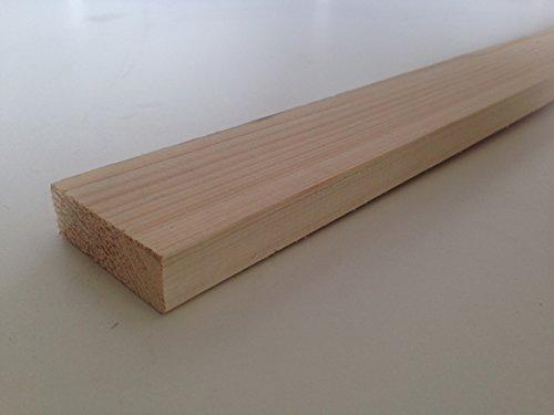 Amico Legno Listelli Abete piallati e spigolati - 2 x 6 x 200cm (Pz 10)