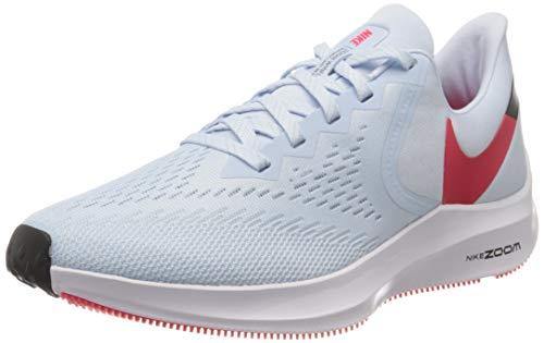 Nike Air Zoom Winflo 6, Zapatillas de Correr Mujer, Azul (Half Blue/Red Orbit/Black/White 401), 40 EU
