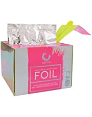 Colortrak Professional Pop-up Coloring /Highlighting Foil Sheets, Pre-cut Ready to Use Sheets, Non-slip Texture Improves Application, Silver, 5 x 10.75 inch, 500 Per Pack