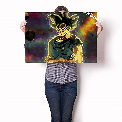Hoch bewertete japanische Anime Familie Wanddekoration Malerei Poster Naruto Tokyo Ghoul Dog Yasha Leinwand Malerei-Rahmenlos-40X60cm