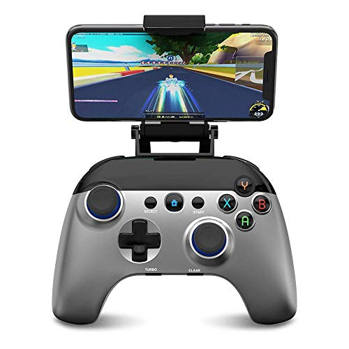 Wireless Game controller, GEEKLIN Bluetooth Mobile Game Controller, Gamepad-Controller für PUBG/Call of Duty/Mehr Shooting Fighting Rennspiel, TURBO für Android Phone, Not Support Xbox