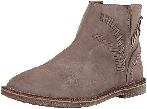 FRYE damen& 039;s Sierra Whipstitch Stiefelie Ankle Stiefel, Dark Taupe, 6.5 M US